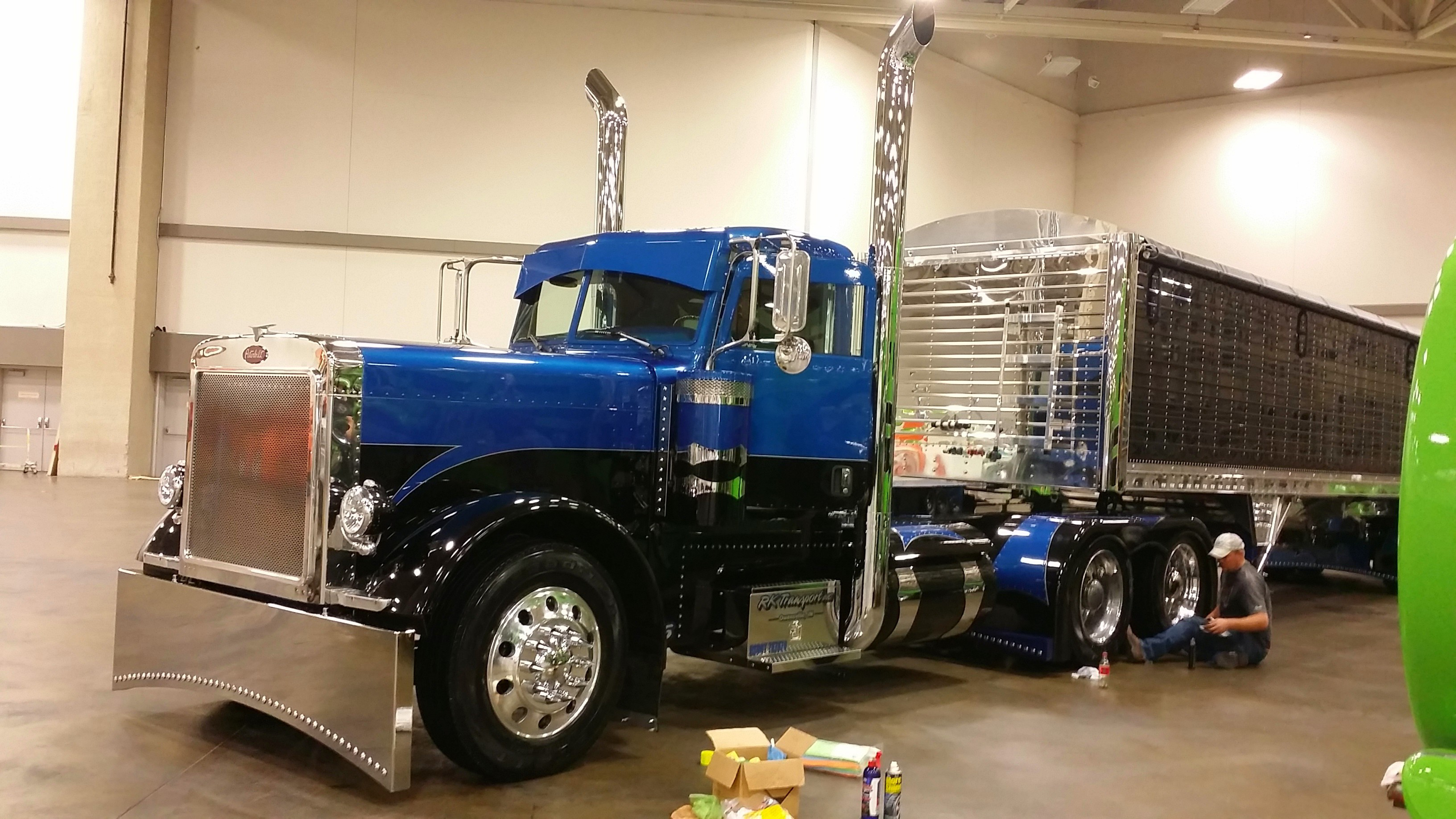Davis' truck