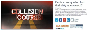 Trucking far from 'under-regulated': Reactions to CNBC's 'Collision course' series