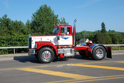 Thomas Millard's 1970 E361 won the Truckers' Choice Award at this weekend's show.