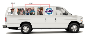 This rendering of a special van design by Designer Wraps of Millville, N.J., shows Karen Talbot's hopes for a special homecoming for Richard Sullivan's dog.