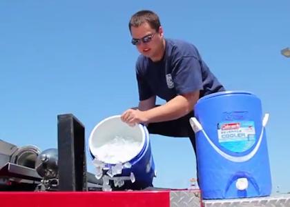 Werner ice bucket challenge
