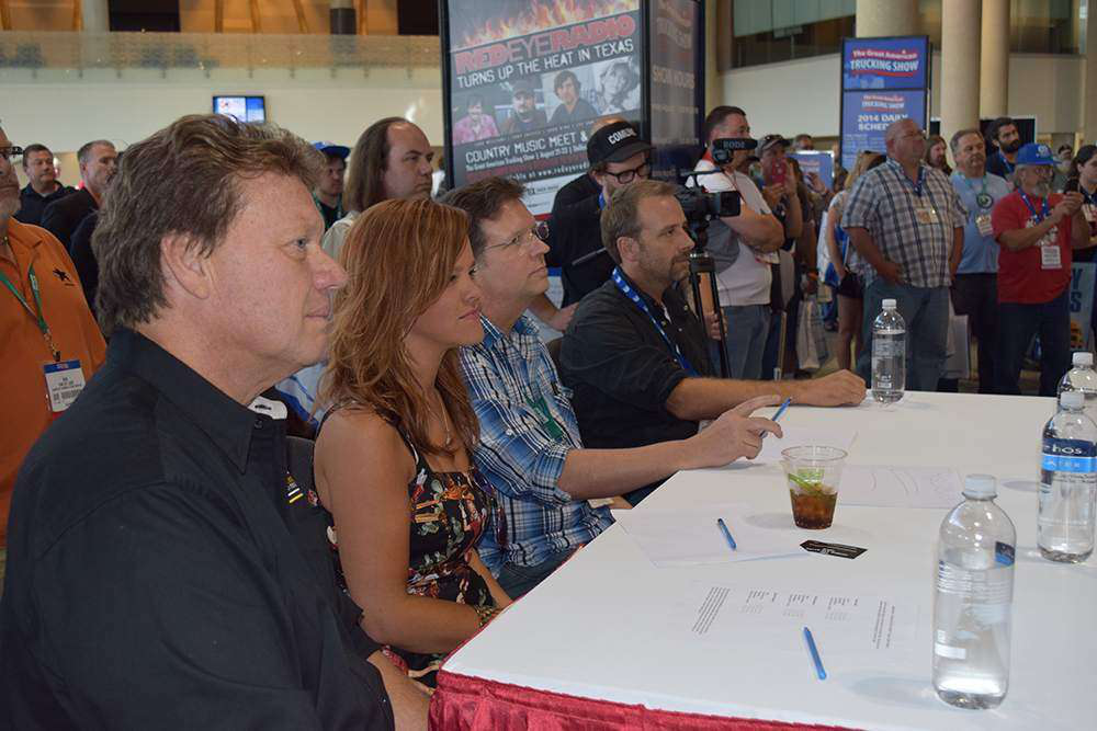 Judges Mike Ryan, Lindsay Lawler, Eric Harley and Edgar Hansen chose the winner of the contest after each contestant gave a life performance.