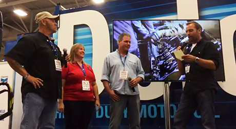 VIDEO: Edgar Hansen interviews Trucker Talent Search nominees