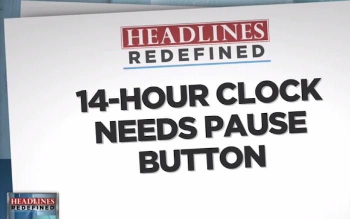 14-hour clock