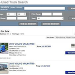 Volvo launches used trucks program, online search tool