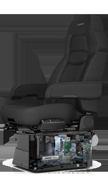 Equipment Spotlight Todays seats offer a more relaxing ride