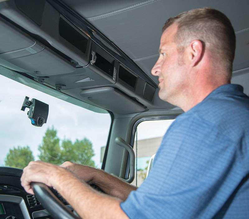 DriveCam in-cab shot