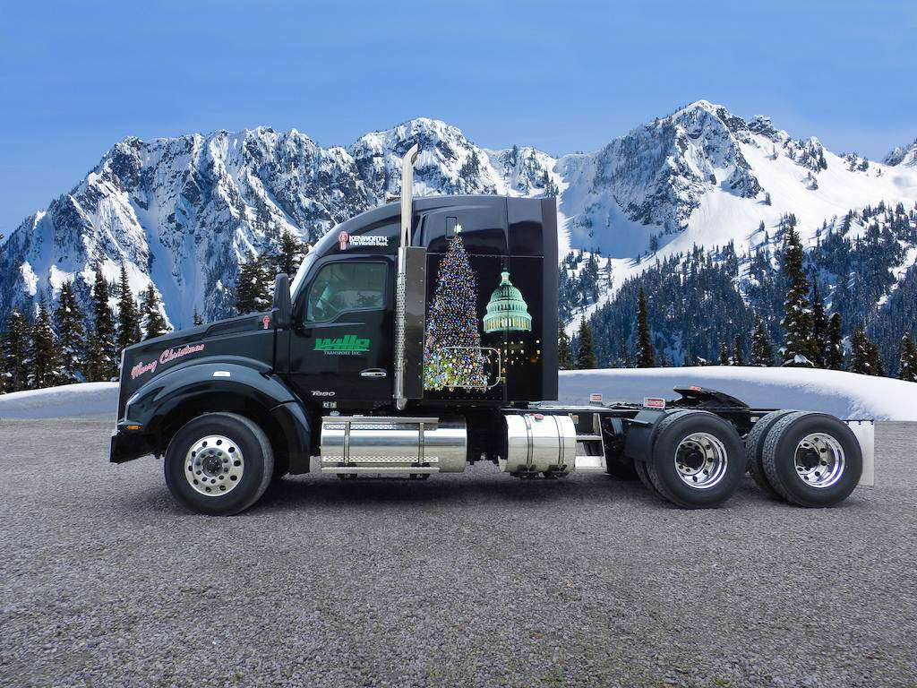 Trucking leads the way in Capitol Christmas tree's trek to D.C.