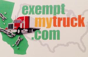 Exemptmytruck com