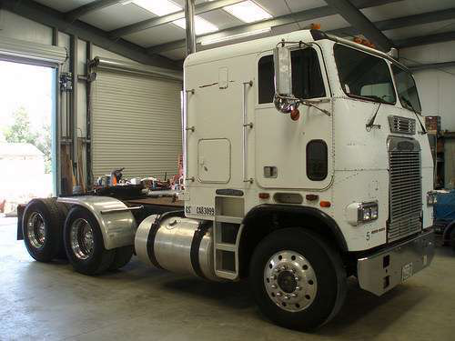 Remember when truckers 'had to drive' cabovers ...