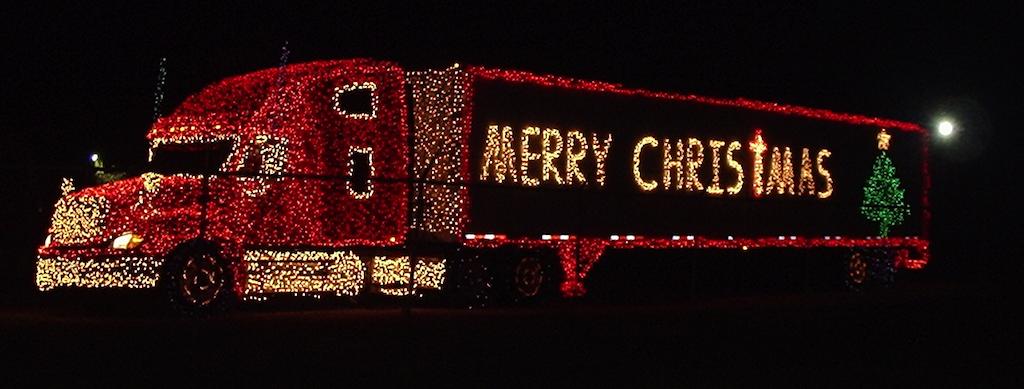 Gallery: 18 Wheels of Christmas