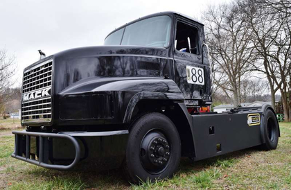 Video: A quick run in Mike Morgan's ChampTruck-in-progress