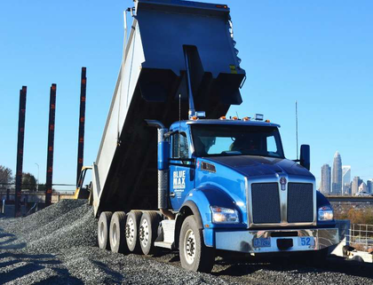 Construction fleet updates with T880s