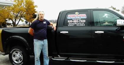 Car/mobile equipment hauling: Owner-operator Greg Cutler's Show-n-Sell Towing & Recovery
