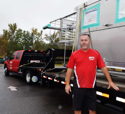 Geographic specialization, with Brady's Hotshot Hauling owner-operator Jeff Ward