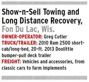 ShownSell Towing and Recovery specs