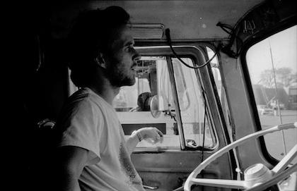 Craig Ryan in-cab