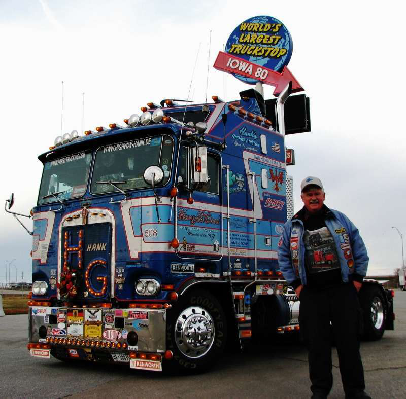 photos and more highway hank s 1981 kw goes to trucking museum