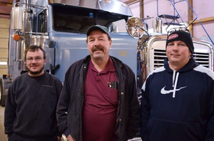 The Whites of Old Time Express: From left, Mitch, Bo and Mark
