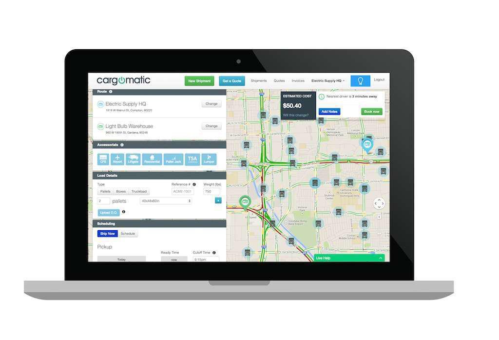 Cargomatic app gets $8M investment