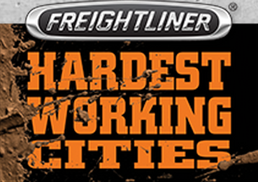 Freightliner announces four new 'Hardest Working Cities'