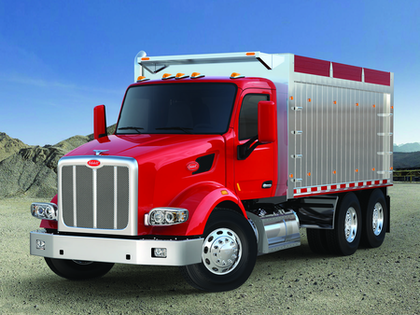 Peterbilt 567 with all-wheel drive