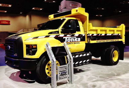 Tonka-branded F750 lands at Work Truck Show
