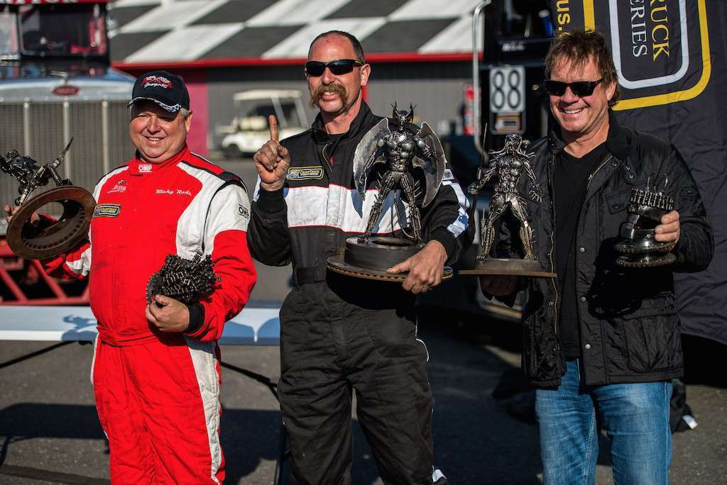 Mike Morgan raced his No. 88 Mack to victory in ChampTruck's inaugural race weekend. See more photos of this weekend's races below. And click here to read more on Morgan and his Mack racer.
