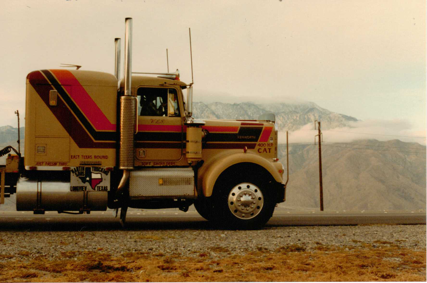 'Her and the memories': Owner-op's 1981 Kenworth W900