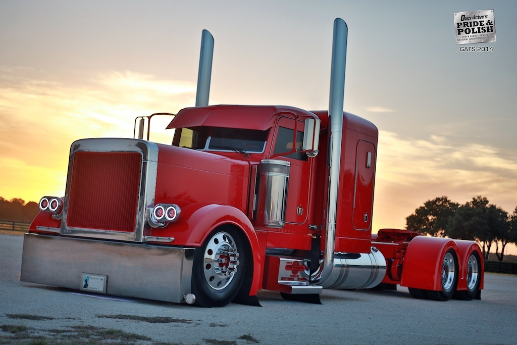 25 custom truck videos to celebrate 25 years of Pride & Polish: Here's the red-out 379 'Cathouse'