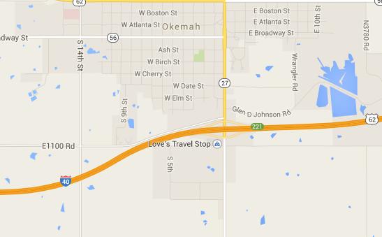 I 40 Oklahoma Map.I 44 Bridge Work In Okc Reveals Further Damage