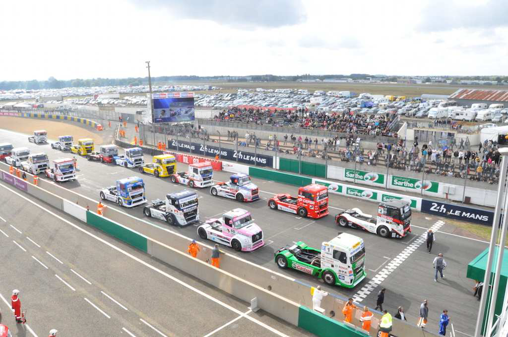 Truckers, start your engines: The Meritor ChampTruck World Series is bringing truck racing back to the U.S.