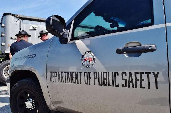 Georgia Department of Public Safety car