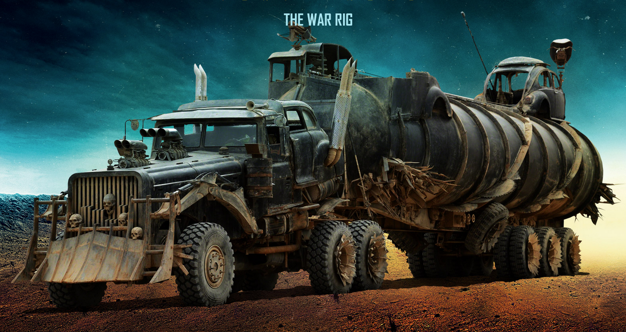 Online Car Customizer >> Tanker, old Mack among customizer's showcase in 'Mad Max'