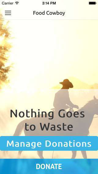 The Cowboy Way -- nothing goes to waste