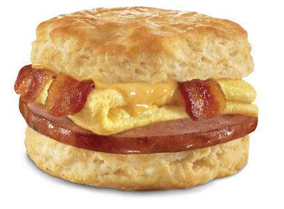 Unidentifiable meat and the rubber breakfast biscuit
