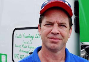 Owner-operator Ben Cadle