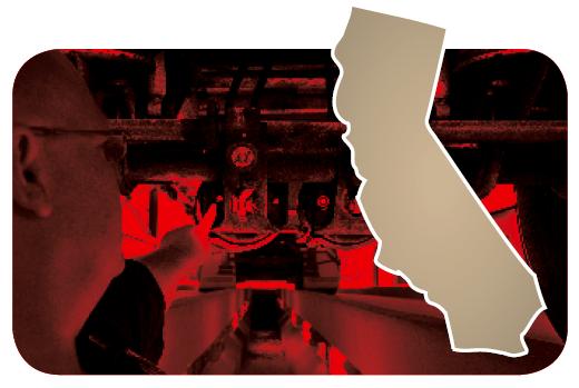 California map bug
