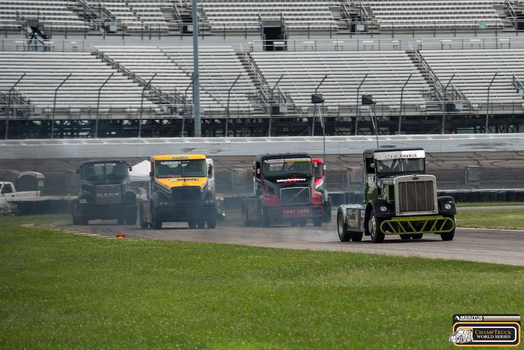 Scenes from a ChampTruck race held last season.