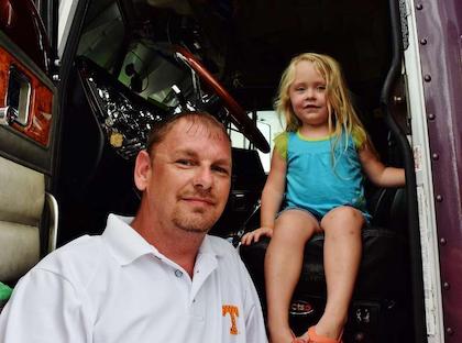 David McDaniel and his daughter Desiree