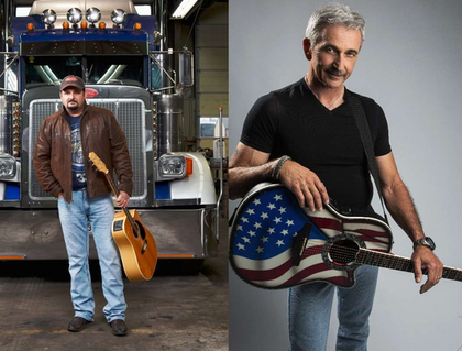 Tony Justice and Aaron Tippin