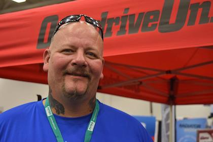 Big John Drury -- aka the 'dancing trucker' -- heads up health effort at GATS