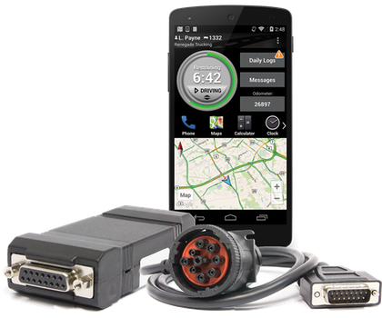 Since introduction of its DashLink AOBRD-compliant system a little less than a year ago, BigRoad's outfitted about 2,000 users with the hardware and mobile software, capable of running on Android and iOS smartphones and tablets.