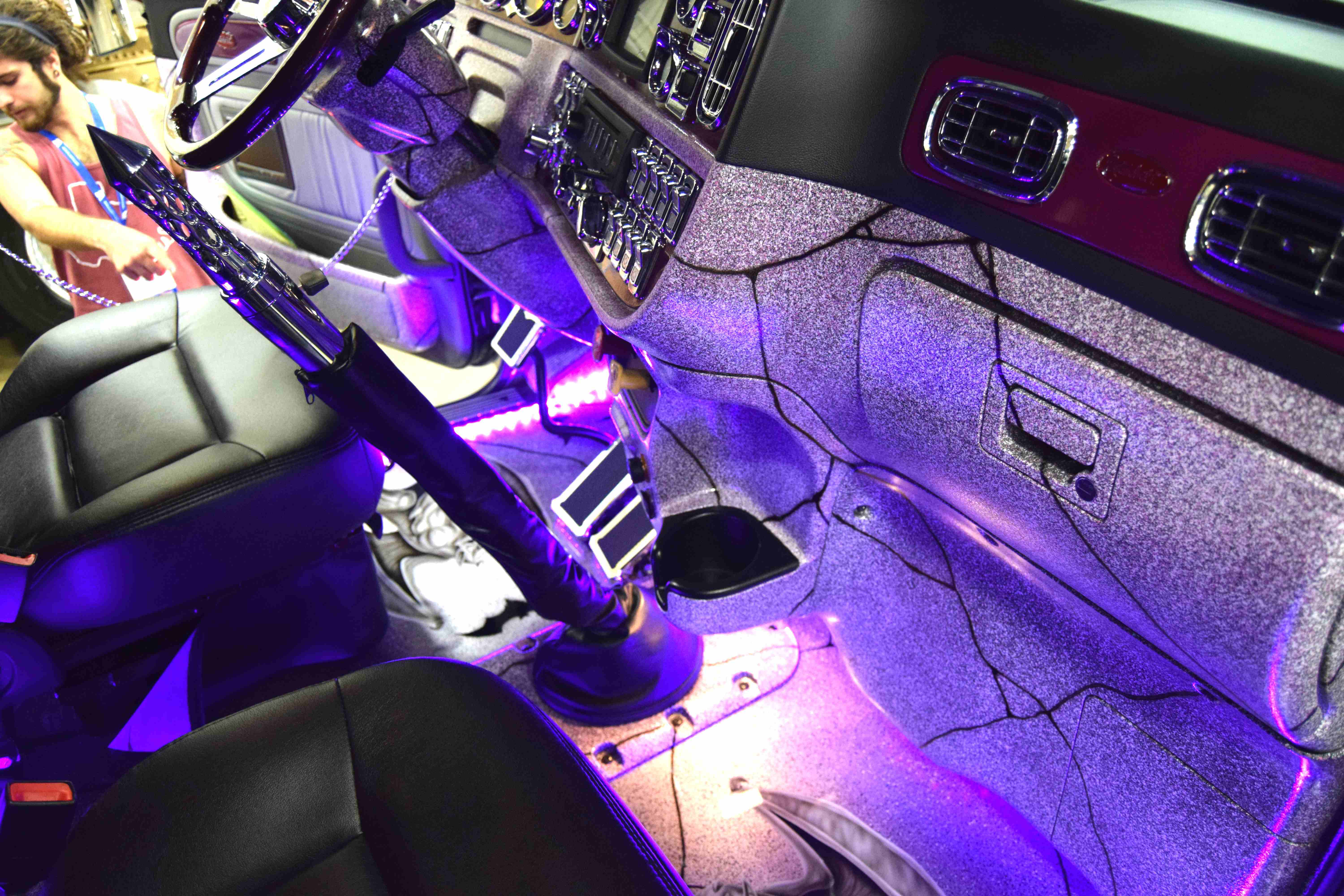 Rodriguez Also Added The Purple Lights You Can See In The Photos Below.  Stay Tuned For More Pride U0026 Polish Coverage From GATS This Weekend.