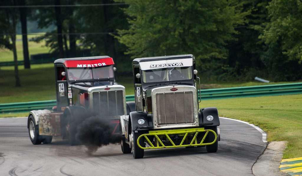 New Bandit big rig racing circuit hits tracks next month, offers $50k per race