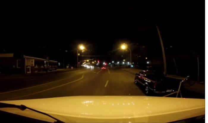 Michael Kimball dashcam pickup driver