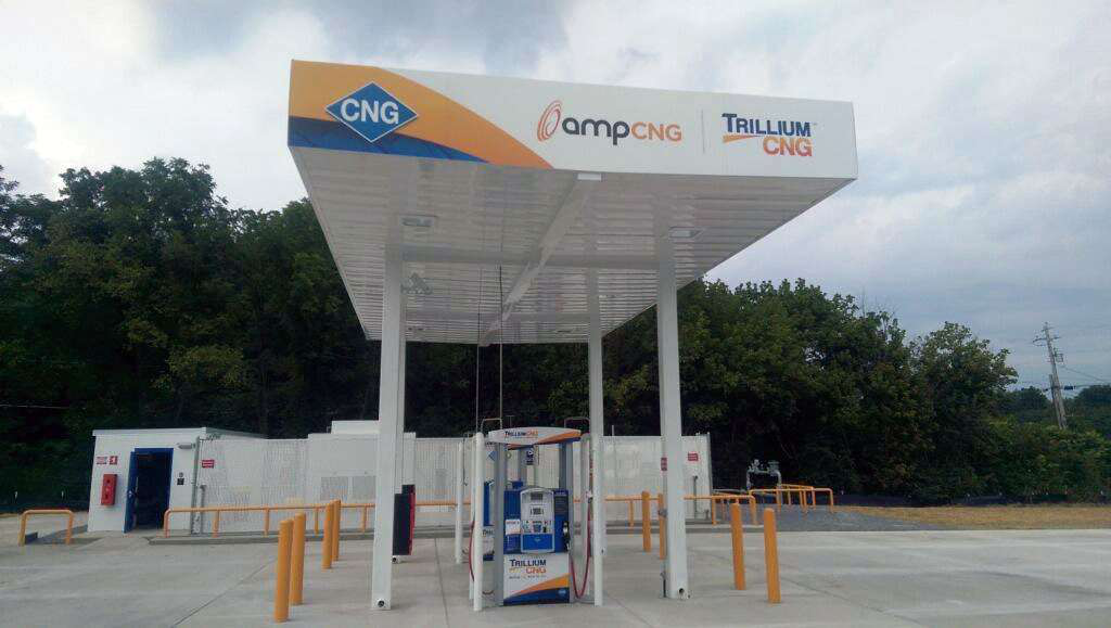 New CNG fueling station opens in Newport, Tenn.