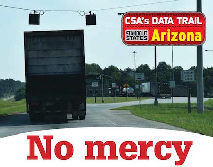 No mercy: Arizona ground zero for truck enforcement