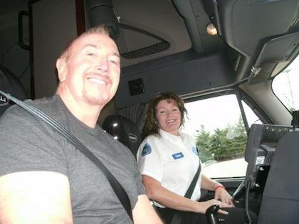 CRASH and Walmart driver Carol Nixon