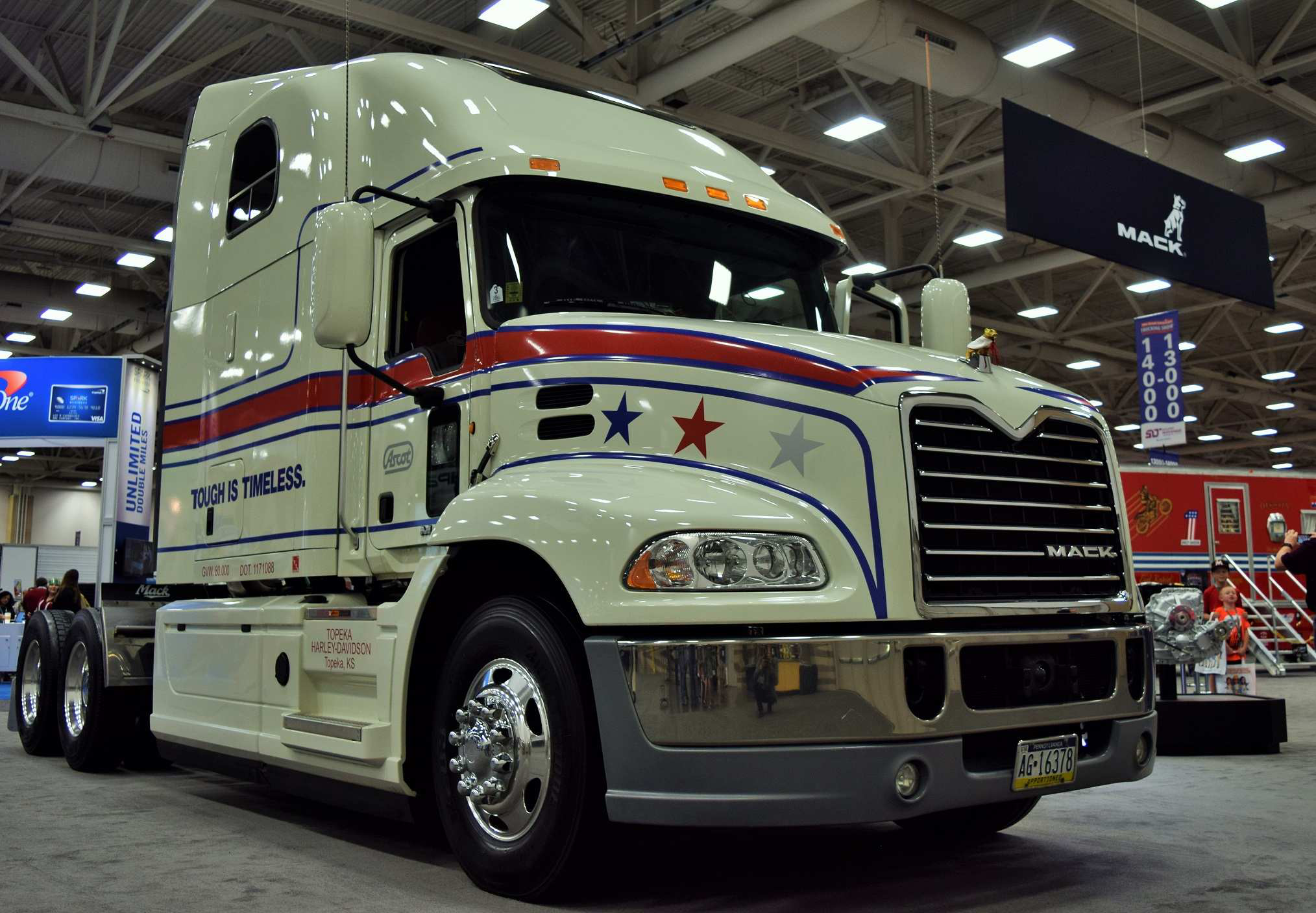 A special Mack is back: Evel Knievel combo moves closer to